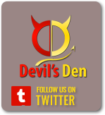 Devils Den twitter button
