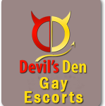 Devils Den Gay Escorts Button