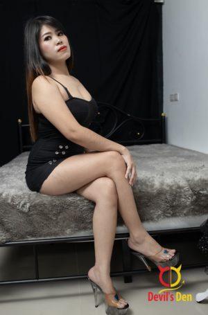Amber sitting