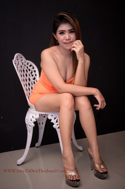 Amber smiling sitting