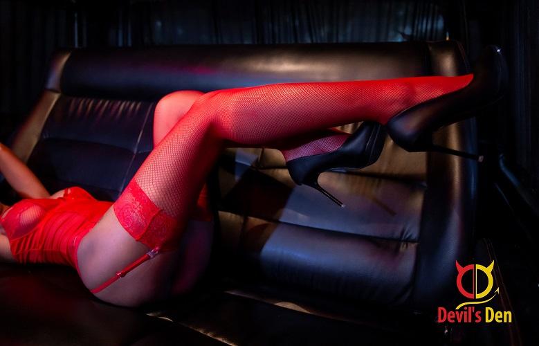 VIP Bus Back Seat legs